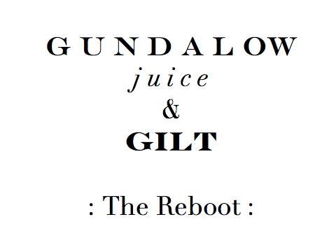 Gundalow for Gilt: The Reboot