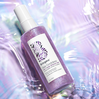 Blog - Unleash Your Inner Goddess: Sea Goddess Hair + Body Shimmer Mist
