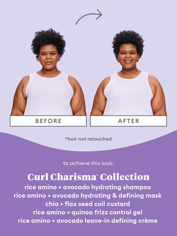 Curl Mask Before After