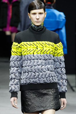 Alexander Wang FW 2014, photo from style.com