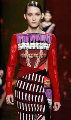Peter Pilotto FW 2014, photo from style.com