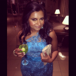 Photo from Instagram @mindykaling