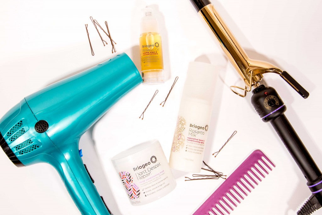 styling tips for healthy hair