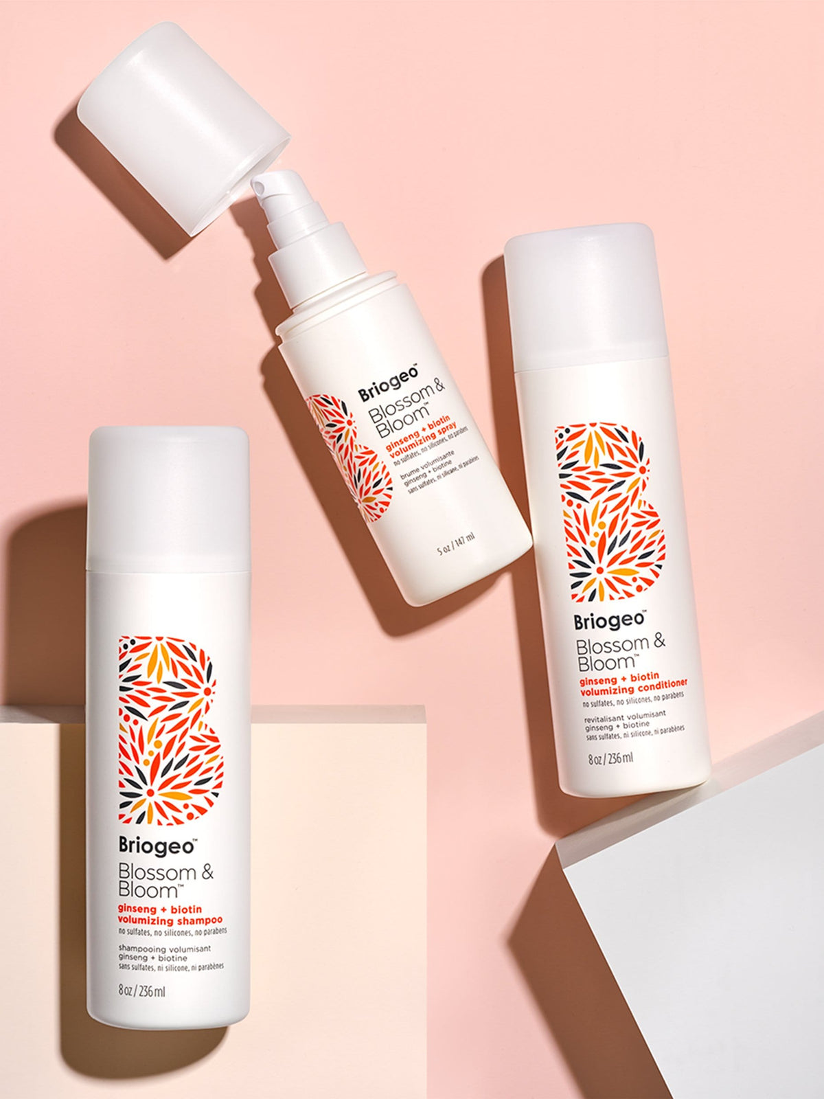 Blossom & Bloom™ Ginseng + Biotin Volumizing Shampoo