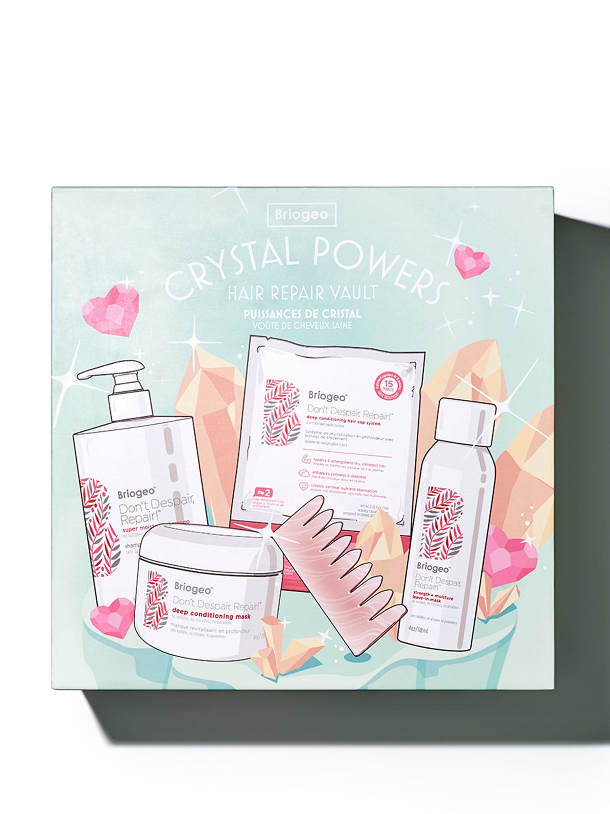 Crystal Powers Hair Repair Vault