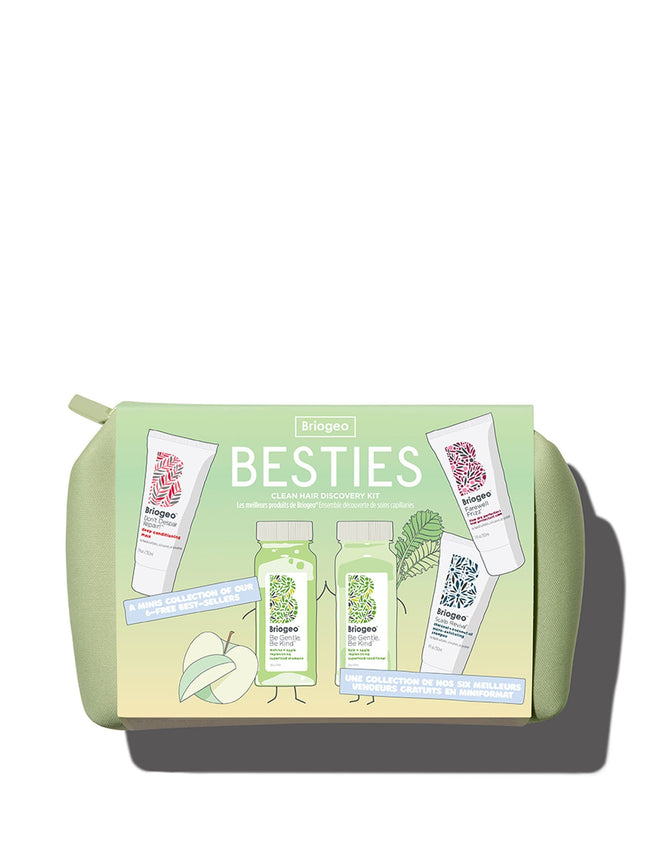 Besties Clean Hair Discovery Kit - Matcha, Kale + Apple Superfoods