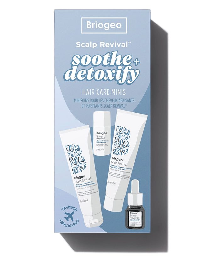Scalp Revival Soothe + Detoxify Hair Care Minis