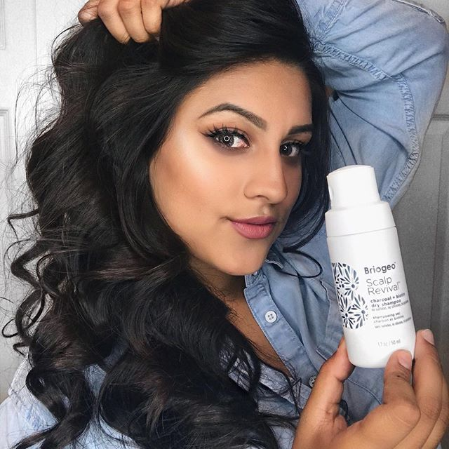 <p>Making sure my curls keep looking fresh using Briogeo's Dry Shampoo! </p>