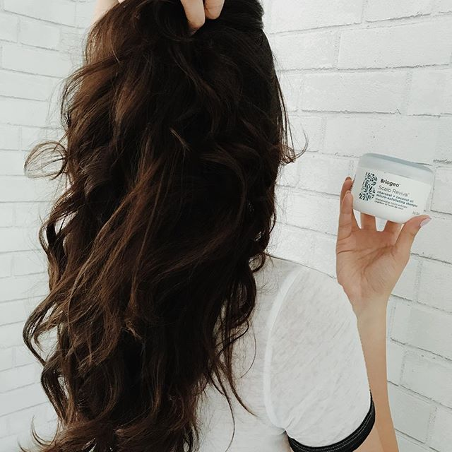 <p>My new scalp revival shampoo from Briogeo gives me life. No more dry hair.</p>
