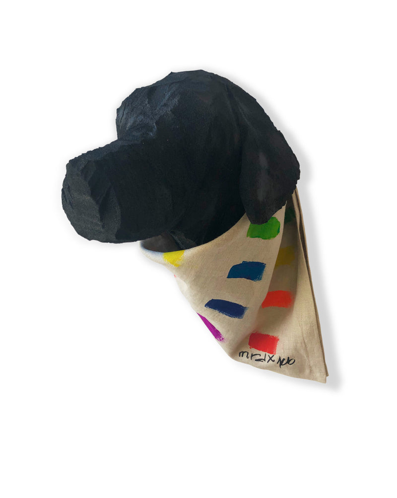 Limited Edition ROYGBIV Hand Painted Bandana