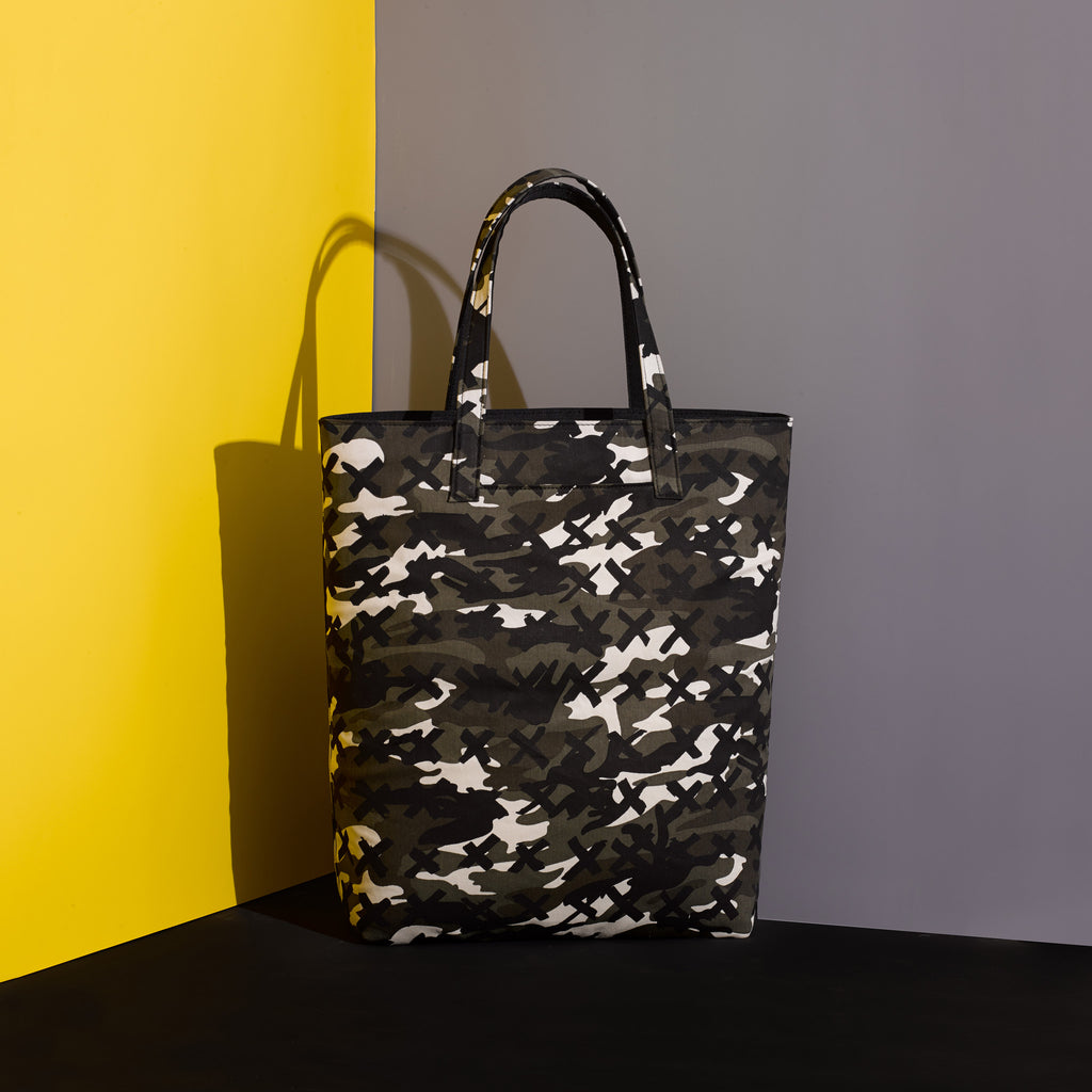 Tote / Camo-X Black - Mr. Dog New York