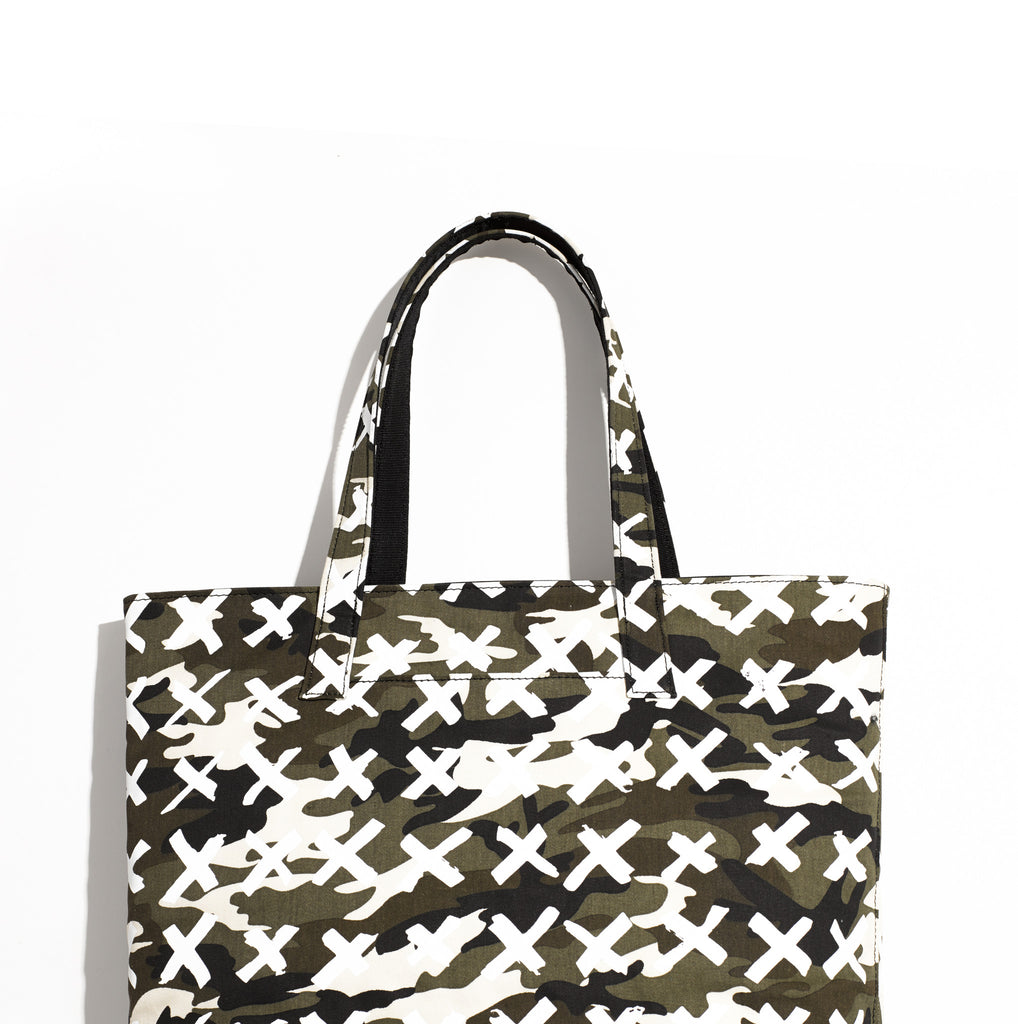 Tote / Camo-X White - Mr. Dog New York
