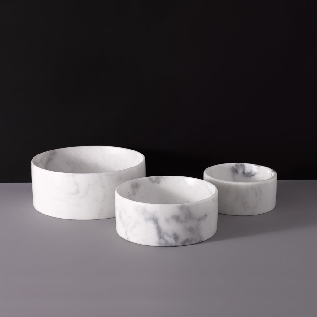 Marble Water Bowl - Mr. Dog New York