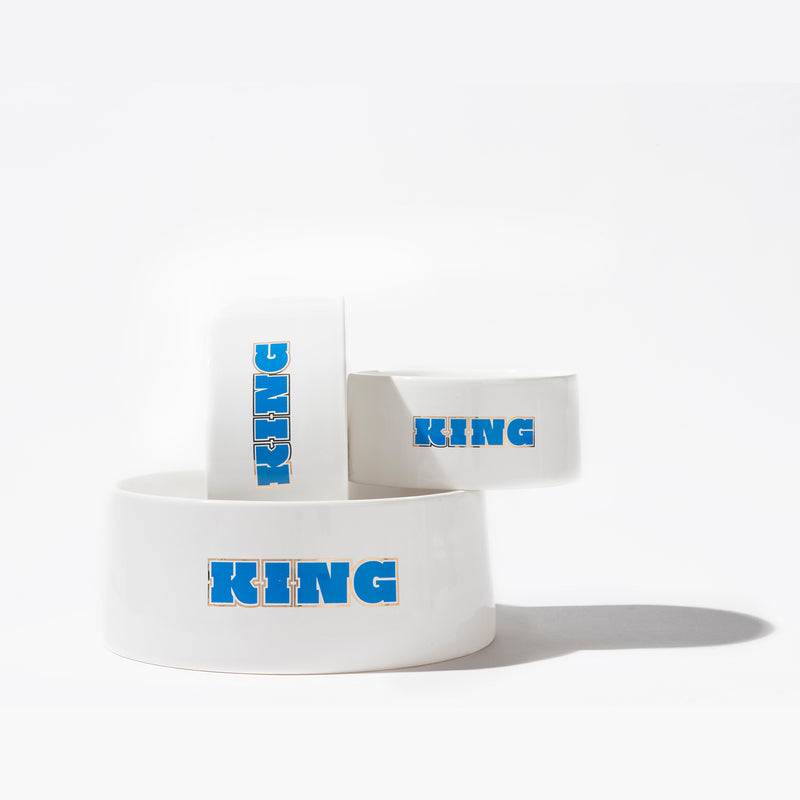 King Dog Bowl