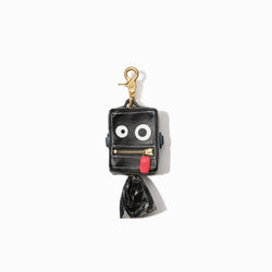 Roboto Dog Poop Bag Holder Classic Black