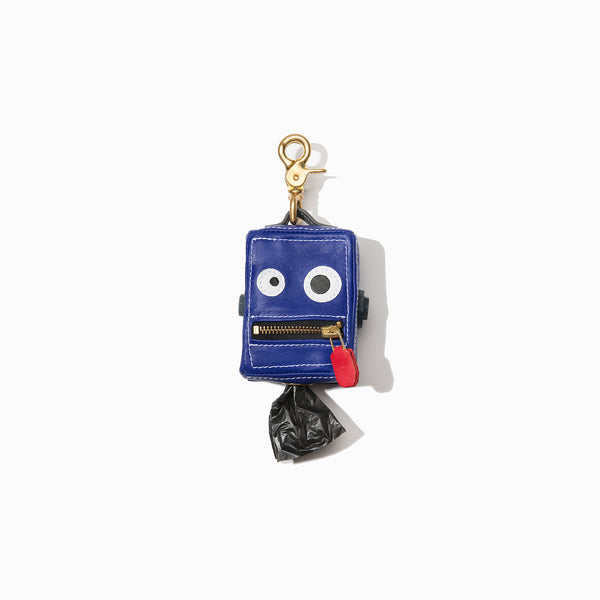 Roboto Dog Poop Bag Holder Blush