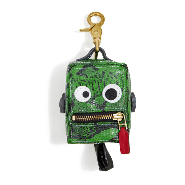 Limited Edition Roboto Dog Poop Bag Holder - Neon Green