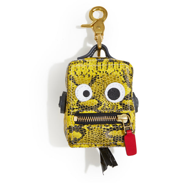 Limited Edition Roboto Dog Poop Bag Holder - Neon Yellow
