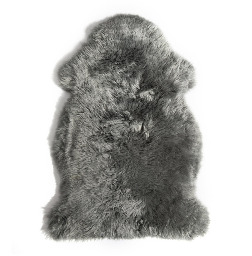 Sheepskin Throw Grey