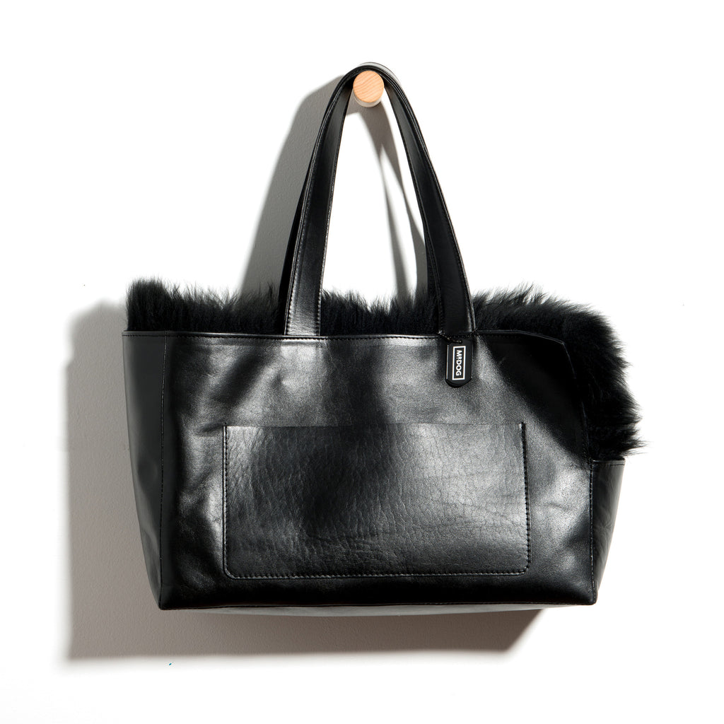 Sheepskin Travel Tote