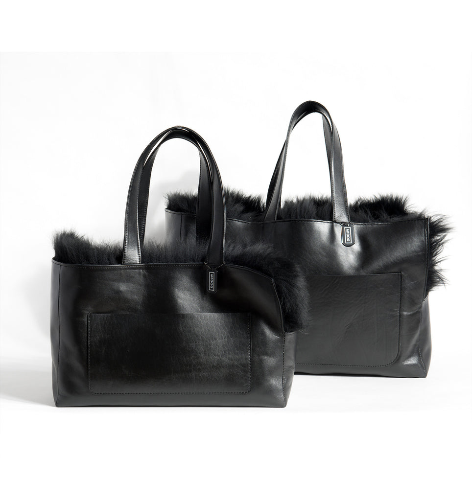 Sheepskin Travel Tote - Mr. Dog New York