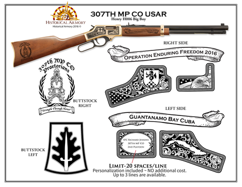 307th MP CO USAR Edition