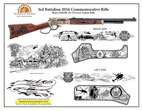 SOCOM 3rd Battalion 2016 Commemorative Rifle