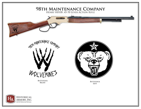 Wolverines 98th Maintenance Company