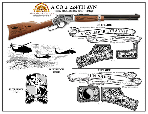 A CO 2-224th AVN Edition