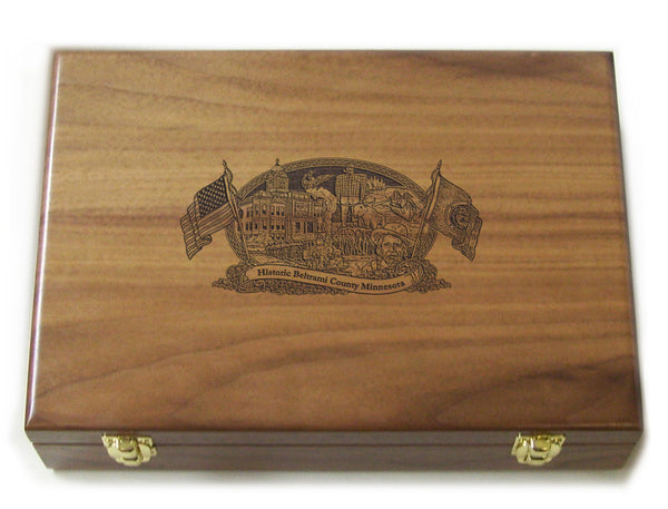 Beltrami County Minnesota Limited Edition Engraved 1911
