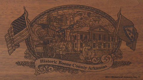 Boone-county-arkansas-engraved-rifle-Buttstock