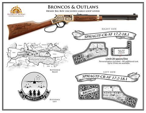 Broncos and Outlaws Edition