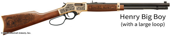 Buffalo Bill Cody Limited Edition Engraved Rifle