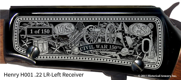 Civil War 150th Anniversary 1862 Limited Edition Classic .22 LR