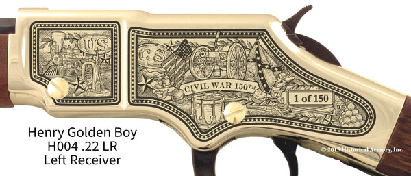 Civil War 150th Anniversary 1861 Limited Edition Golden Boy