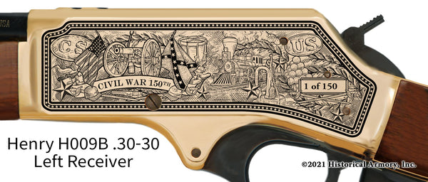 Civil War 150th Anniversary 1861 Limited Edition Henry .30-30