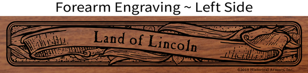 Illinois State Agricultural Heritage Engraved Rifle