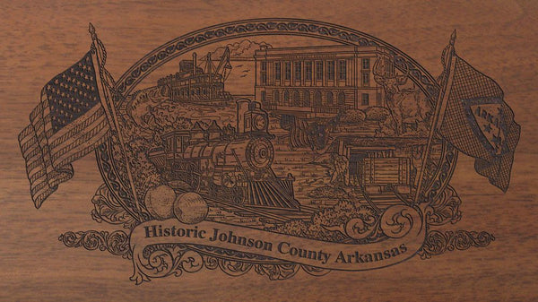 Johnson-county-arkansas-engraved-rifle-Buttstock