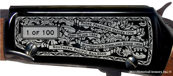 Kern county california engraved rifle H001 Receiver