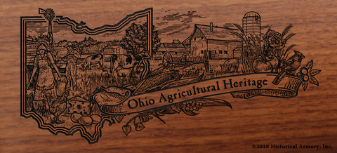 Ohio State Agricultural Heritage Engraved Rifle