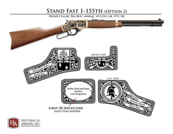 Stand Fast 1-155th Edition