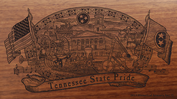 Tennessee State Pride Engraved Rifle