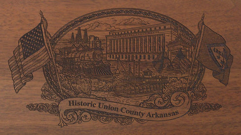 Union-county-arkansas-engraved-rifle-Buttstock
