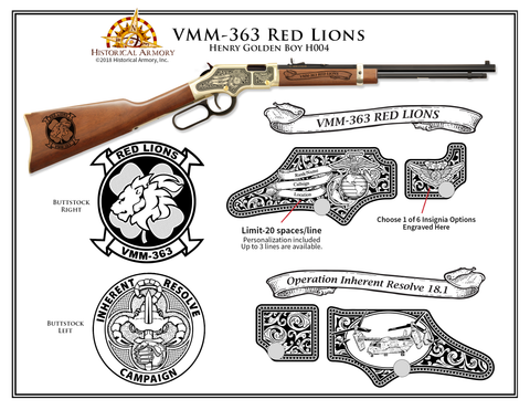 VMM-363 Red Lions Edition