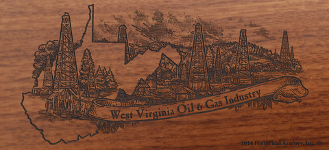 West Virginia State Oil & Gas Limited Edition Engraved Rifle