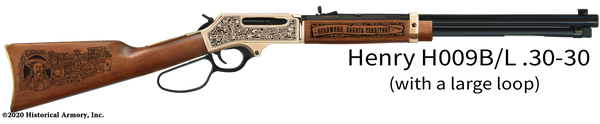 Wild Bill Hickok Limited Edition Engraved Rifle