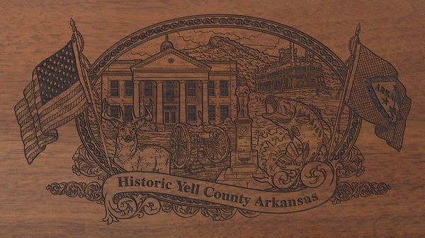 Yell-county-arkansas-engraved-rifle-Buttstock