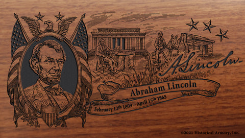 Abraham Lincoln Limited Edition Engraved Rifle