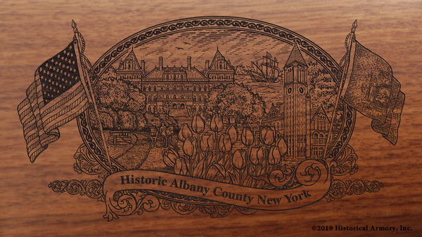 Albany County New York Engraved Rifle