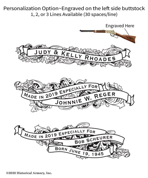 Oconee County South Carolina Engraved Rifle Personalization